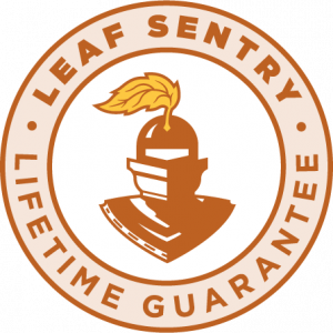 leaf sentry lifetime guarantee seal